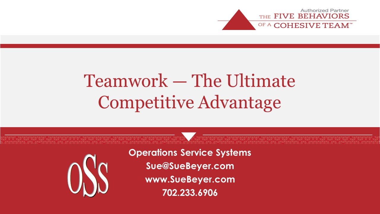 webinar registration operations service systems teamwork the ultimate competitive advantage