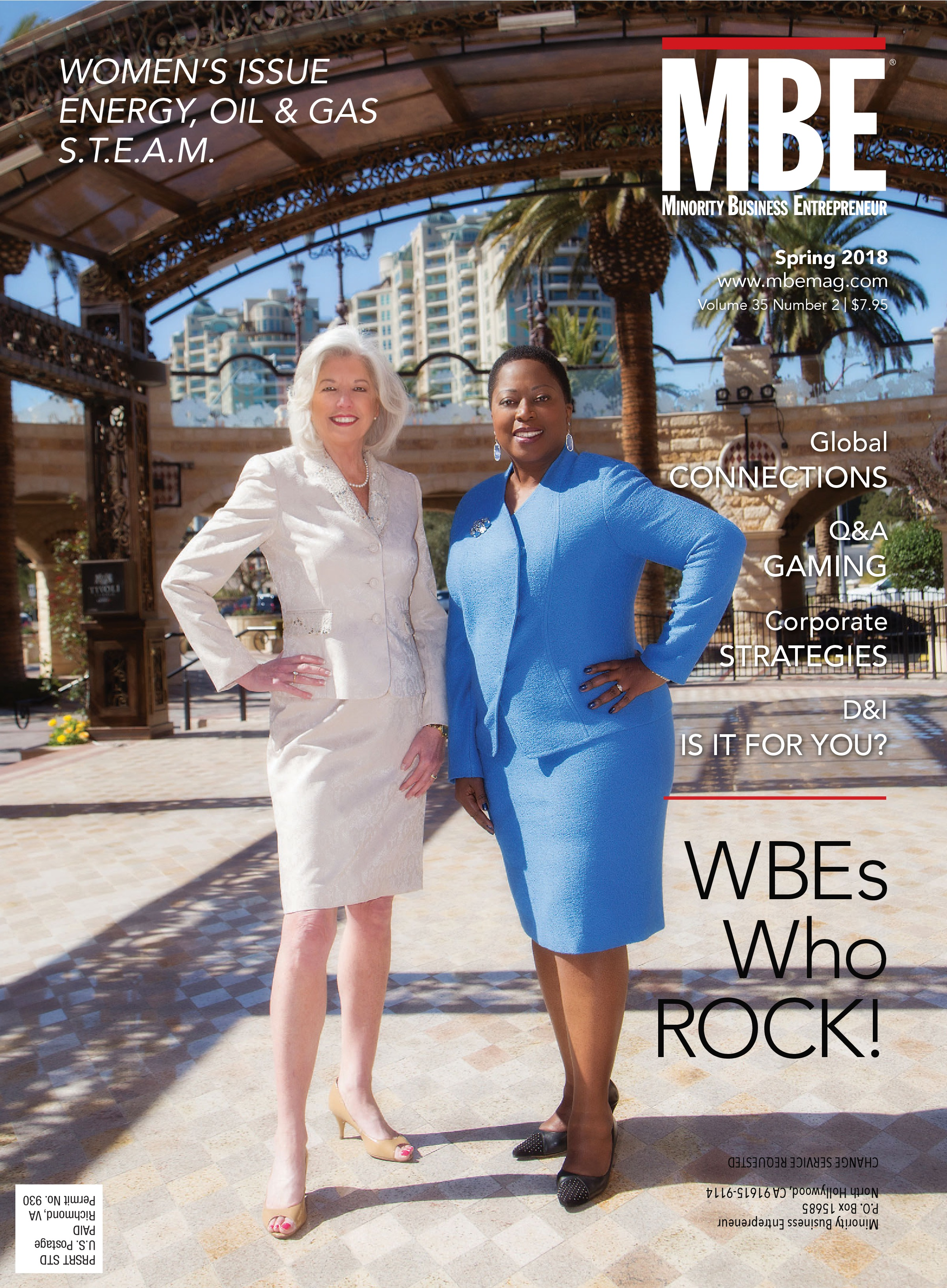 WBEs Who ROCK! MBE Magazine Spring 2018